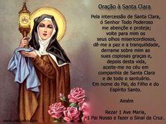 Oração à Santa Clara