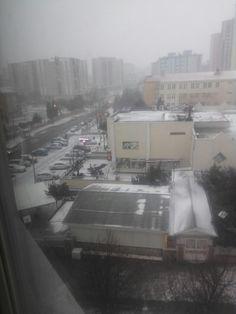 Çok güzel kar yağıyor #çorlu #corlu 05394755205
