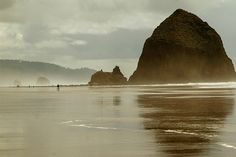 Cannon Beach, Oregon. TRAVEL.