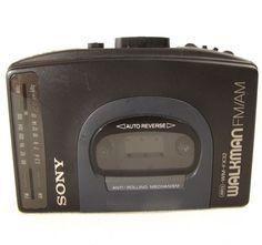 Sony Walkman Portable Cassette Player Personal Stereo AM FM Radio WM-FX32 Tape #Sony