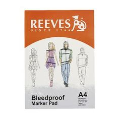 Reeves A4 Bleedproof Paper 70gsm 50 Sheets