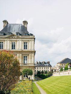 Jardin du Luxembourg - lingered upon