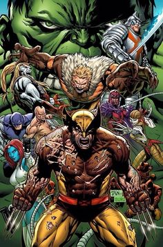 Grandes enemigos de Wolverine...