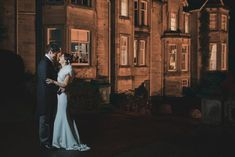 A Pronovias Wedding Gown for a Scottish Castle Wedding with a soft cream and blush palette