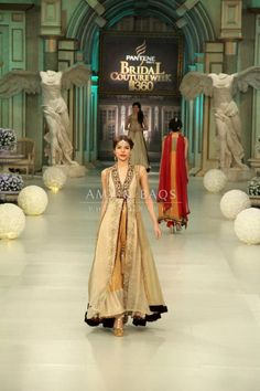 Pakistan bridal couture week '12