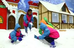 VGP Snow Kingdom is best hangouts in Chennai with your family