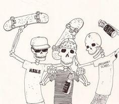 skateboard drawing tumblr - Hľadať Googlom