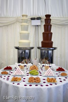 St Oswald's Church & Mercure Haydock Hotel - Wedding - May 2018 Chocolate Fountains, Hotel Wedding, Candles, Table Decorations, Mercury, Candy, Candle Sticks, Dinner Table Decorations, Candle