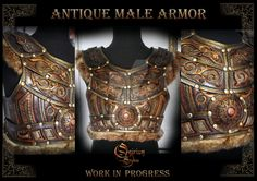 Celtic Male Armor Torso and belt, other part are coming It's a Fantasy style armor, not an historical one. NOT FOR SALE, unique piece, won'. Celtic Male Armor : Torso and Belt Larp Armor, Leather Craft Tools, Leather Armor, Cosplay Tutorial, Medieval Fantasy, Custom Leather, Leather Working, Cosplay Costumes, Vikings