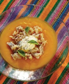 Butternut squash soup with trout Trout Recipes, Smoked Trout, Butternut Squash Soup, Soups And Stews, Thai Red Curry, Eat, Cooking, Ethnic Recipes, Food