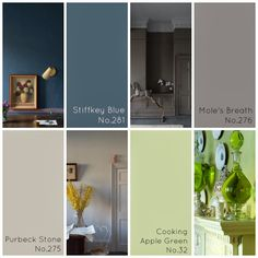 Dayton Home: 2014 Color Trends: The Farrow + Ball Edition #daytonhome