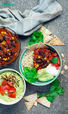 A delicious vegan chilli con carne recipe that's warming and comforting whilst being completely healthy and nutritious.