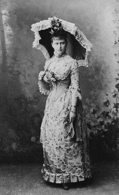 Grand Duchess Elisabeth Feodorovna of Russia in 1887.A♥W