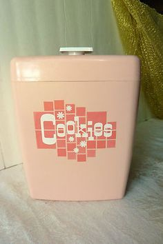 Image result for vintage kitchen canisters ebay