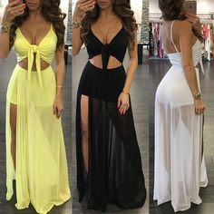 The Sheer shorts! Sexy Dresses, Cute Dresses, Casual Dresses, Fashion Dresses, Summer Dresses, Party Dresses, Dope Outfits, Skirt Outfits, Dress Skirt