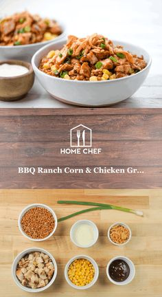 Turn off the stove and put away the knives… Home Chef is offering a lunch quick enough to throw together as you're walking out the door and tasty enough to meet our (and your) high standards for quality meals with fresh ingredients. Perfect for a quick lunch, we also pack in enough ingredients for two full grain bowls, giving you way more bang than your fast food buck ever would. Save the hot oven and pots and pans for dinner; we've got your lunches covered.