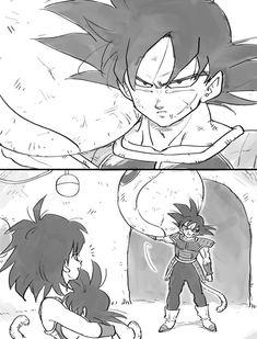 Bardock, Gine and Goku Dragon Ball Z, Dragon Ball Image, Anime Couples Manga, Anime Kawaii, Art Reference, Sketches, Drawings, Geek, Code Geass