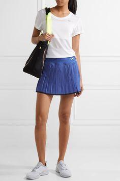 Nike   Victory pleated Dri-FIT stretch tennis skirt   NET-A-PORTER.COM