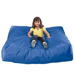 Crash Mat - For jumping, tumbling or just lounging around: Crash Mat is always the perfect place to land. Durable wipe-clean nylon filled with soft inviting foam is ideal for sensory stimulation or balance activities … or just a great place to crash! Durable construction and ample foam filling make it ideal for play areas or reading rooms