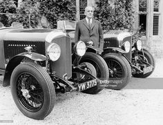 WO Bentley with a Bentley car. In 1919 he formed Bentley Motors Ltd. During the late 1920s Bentley achieved a set of record race wins that was not equalled until the 1950's by Jaguar and not beaten until the 1960's by Ferrari. By 1931 the depression hit the company badly and was forced into liquidation. It was taken over by Rolls-Royce Limited. WO Bentley worked with Rolls-Royce in an advisory capacity for some time to expand the market of Rolls-Royce and Bentley cars throughout the world.
