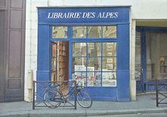 La librairie des Alpes (6 Rue de Seine, 75006 Paris); Thierry Duval