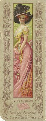 Victorian Bookmarks II -Sempre Giovine