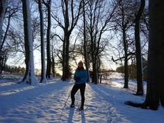 """Had to share this one from yesterday too. Walking in the snow was so much fun and so beautiful! Funny story. The last time we were in the Cotswolds I was stopped by a very well-to-do lady who asked where my jacket (the one in this photo) was from. I said """"Decathlon"""". To which she replied """"De-cath-lon oh I don't know it"""". """"Yes it's the insert of my ski jacket. 2 for 1"""". She'd clearly never stepped foot in the haven that is discounted outdoor clothing! We still laugh about it now"""