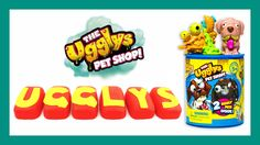Moose Toys Ugglys Pet Shop in Play-Doh surprises