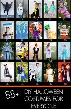 88+ Handmade Halloween costumes