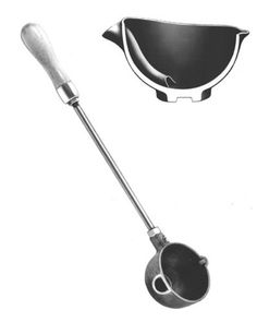 Casting Ladle Bottom Pour Rowell 2 * You can get more details by clicking on the image. (This is an affiliate link) Cast Iron, It Cast, Candy Making Supplies, Iron Bowl, Melting Metal, Cavities, Furniture Plans, Cleaning, 1 Pound