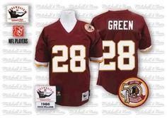 Darrell Green Jersey Red Throwback  28 NFL Reebok Washington Redskins Jersey  ID 99789279  20 e0a27abe8