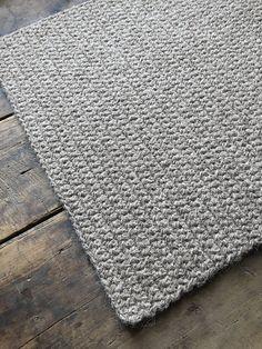 tapis rectangulaire tapis gris organique laine naturelle tapis au crochet de chambre bb bonheur crochet francais couverture au