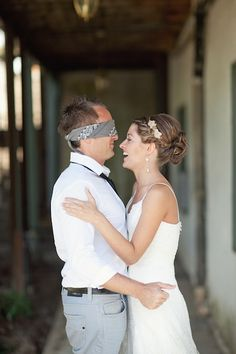 Wedding Trends: 'First Look' Photos