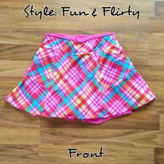 Pink Plaid Made to Order