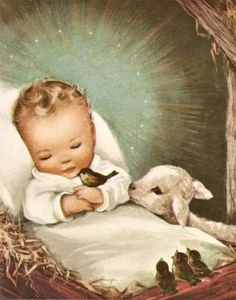 ❤ ♡ ♥And Now I Lay Me Down To Sleep, I Pray The Lord These Souls To Keep..1952~ c.c.c~ Vintage USA ILlustration
