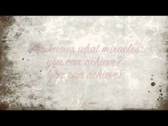 When You Believe - Maccabeats (lyrics)