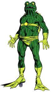 Человек-Лягушка (англ. Frog-Man)