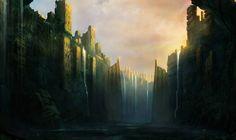 The Towers - Concept art, Digital paintings, FantasyCoolvibe – Digital Art