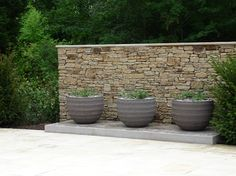 Another example of dry stone wall for the bar structure