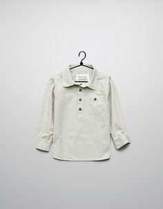 gingham check shirt - Shirts - Baby boy (3-36 months) - Kids - ZARA