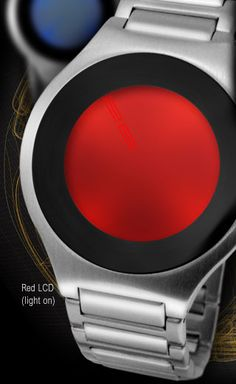 Japanese LED watch