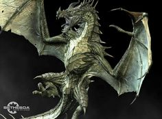 Green Dragon<<<This looks like graphics,cause it looks better than my xbox one.I may be wrong Dragonborn Skyrim, Reptiles, Dragon Illustration, Beast Creature, Green Dragon, Dragon Art, Elder Scrolls, Creature Design, Mythology