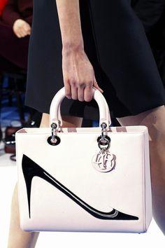 Andy Warhol purse design at Dior RTW Fall 2013