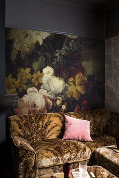 'Spring' Wallpaper Mural from the Royal Academy of Arts collection. Interior Deco, Mural, Spring Wallpaper, Cool Rooms, Bedroom Wall Colors, Mural Wallpaper, Wall Canvas, Victorian Interior, Dramatic Walls