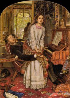 Hunt, William Holman | The Awakening Conscience (1853-1854)