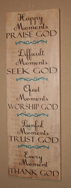 This would make a great birthday present.  Religious sign.  DeenasDesign on Etsy, $38.00