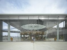 Update: Jean Nouvel Jewelbox Houses Historic Carousel in NYC