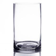 Create a simple yet sophisticated atmosphere at any event with our 3 x 5 Cylinder Glass Vase. This sleek and stylish clear glass can be used as a vase and more. Unique Centerpieces, Table Centerpieces, Candy Buffet Tables, Floating Flowers, Things To Buy, Stuff To Buy, Carafe, Clear Glass, Glass Vase
