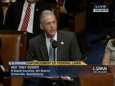 Boom: Trey Gowdy Just Roasted Obama To A Crisp On The House Floor And Earned A Standing Ovation
