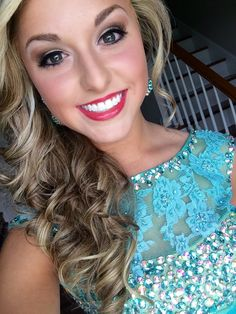 prom makeup look